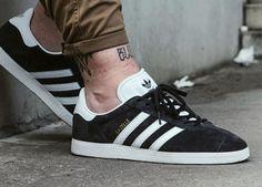 Adidas Gazelle - Black (by Mü Rksi) Buy here: ASOS / Overkill / Sneakersnstuff / Pro Direct / More shops