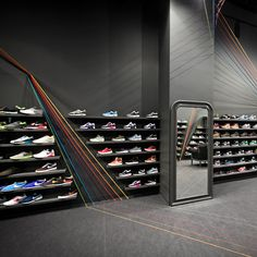 Run Colors trainer store by Mode:lina Architekci