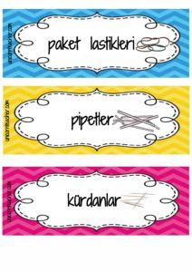 Malzeme Etiketleri – unicorn teacher Cultural Architecture, Film, Montessori, Preschool, Classroom, Teacher, Education, This Or That Questions, Cards