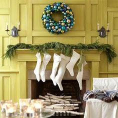 MALLIE + POSH by Mallorie Jones I Honolulu Interior Design I Inspired Interiors I Decorating Ideas: Christmas Mantels