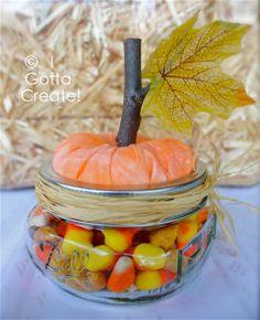 {Mason Jar} Pumpkin