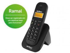 Ramal Sem Fio Intelbras TS 3111 - c/Identific. de Chamadas e Chamada em Conferência