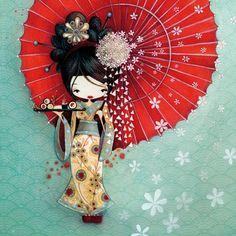 Ketto - Geisha - Toiles rondes