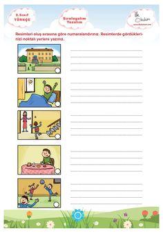 Sıralayalım Yazalım Turkish Lessons, Turkish Language, Homeschool Math, Olay, Worksheets, Preschool, Humor, Education, Words