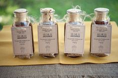 BBQ Sauce Seating Cards