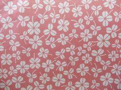 Stoff Blumen - BlumenKlee - ein Designerstück von Mai-Lu bei DaWanda