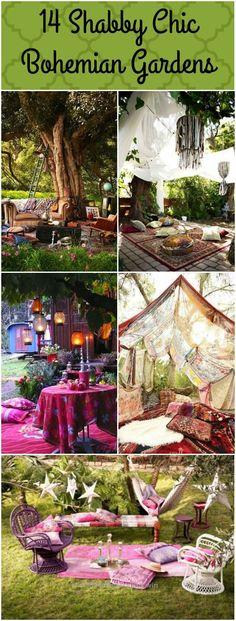 Adorable 14 Bohemian Style Gardens ..