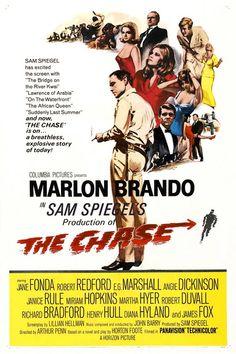 The Chase (1966) - Marlon Brando, Jane Fonda, Robert Redford, Janice Rule, Mariam Hopkins, Robert Duvall, E.G. Marshall, Angie Dickinson