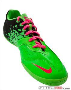 Nike FC247 Elastico II Indoor Shoes - Neo Lime with Black... 53.99 Nike 7b3179800789