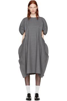 Comme des Garçons - Grey Volume Dress