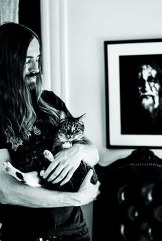 These Photos Of Rockers With Their Cats Shows The Softer Side Of Heavy Metal