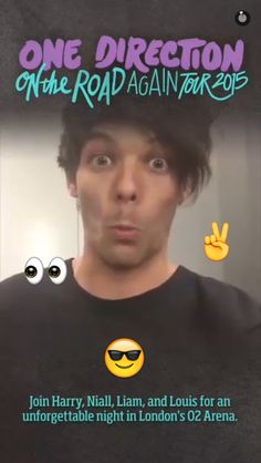 Things I can't handle- one direction's snap chat.
