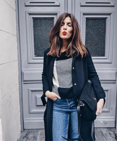 "1,595 mentions J'aime, 47 commentaires - Valerie Husemann (@simpleetchic) sur Instagram : ""Hope you all had a great Monday❤ wearing my @mintandberry favorites and red lips today 💋enjoy your…"""