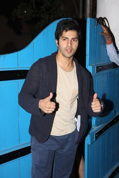 Varun Dhawan at Daboo Ratnani's 2013 Calendar Launch.