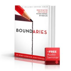 Boundaries- life changing book. Totally amazing, practical, and life simplifying.