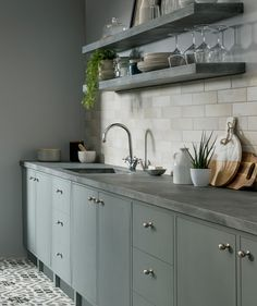 Anya™ Frost Tile Anya™ Frost Tile Keep it simple, yet with a splash of colour. Anya brings a clean, streamlined, linear look to the traditional brick-format tile. Anya's subtle shade variation is perfect for creating a 'simple' living space but can also be paired with luxury fabrics, textures and neutral tones creating a luxury style. #kitchendecor
