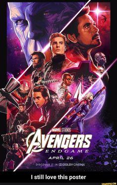 Avengers: Endgame poster - In Avengers Endgame, the Marvel heroes around Iron Man, Hulk, Thor, Captain America and Co. The Avengers, Avengers Humor, Poster Avengers, Avengers Movies, Avengers Characters, Marvel Comics, Films Marvel, Marvel Movie Posters, Cinema Posters