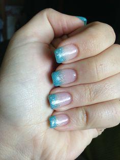 Royal Blue Silver My Nails Designs Pinterest