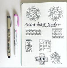 Mini Habit Trackers