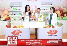 JR Slow Juicer #MoreMall #HomeShopping #Indonesia www.moremall.tv #SlowJuicer