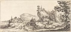 Returning Home from the Hunt   Jacques Callot, Returning Home from the Hunt (probably c. 1630)