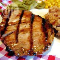 Côtelettes de porc à la cassonade @ qc.allrecipes.ca