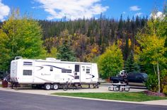 Tiger Run RV Resort, Breckenridge, Colorado two adjacent rivers and bike along 60 miles of exciting trails and paved bike paths