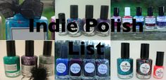 Things I Love At the Moment: Indie Nail Polish Shop Links