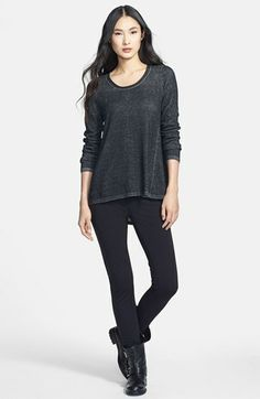 Eileen Fisher Sweater & Skinny Pants  available at #Nordstrom