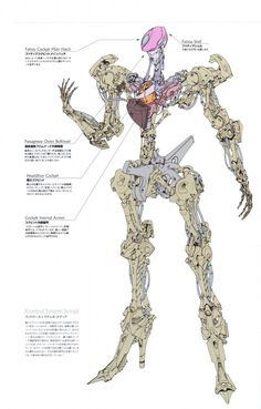 One of the 'Mortar Headds' from the anime/manga 'Five Star Stories'