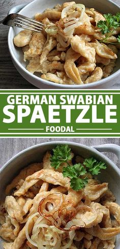 Have you heard about Swabian spaetzle? It's a German noodle that can be adapted for many different recipes and tastes. Get the recipe now on Foodal. Pasta Recipes, New Recipes, Cooking Recipes, Recipies, Polish Recipes, Noodle Recipes, Side Recipes, Cooking Ideas, Yummy Recipes