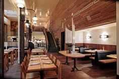 The Progress San Francisco builds on the success of its Michelin-starred sibling next door Restaurant Layout, Restaurant Design, Fall Rehearsal Dinners, Korean Cafe, San Francisco Restaurants, Next Door, Interior Design, Building, Sibling