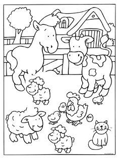 anasınıfı çiftlik boyama (3)