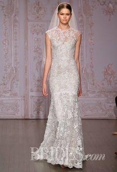 Monique Lhuillier Wedding Dresses Fall 2015 Bridal Runway Shows Brides.com   Wedding Dresses Style   Brides.com