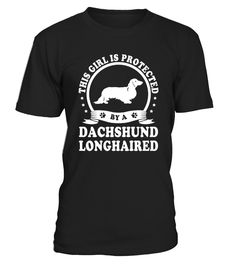Dachshund Longhaired Lover Cute T-Shirt