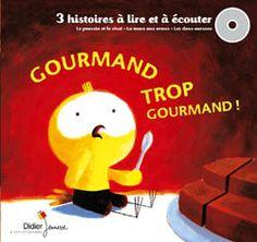 3 histoires gourmandes de la collection A petits petons, réunies dans un livre-disque !
