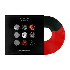 The Red & Black Colored Vinyl Version of Blurryface is exclusive to the Official Twenty One Pilots Webstore: http://store.twentyonepilots.com #twentyonepilots #blurryface
