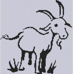 Goat 2 Cross Stitch Pattern