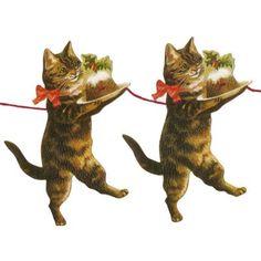 Christmas Kitty Garland