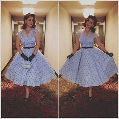 Beautiful miss victory violet dress petticoat vintage