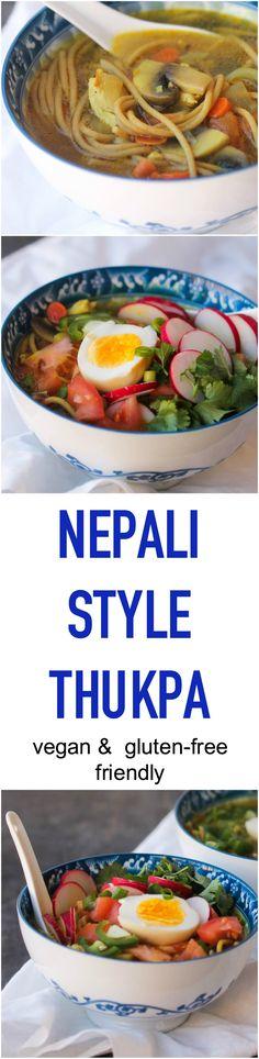 Nepali Style Thukpa