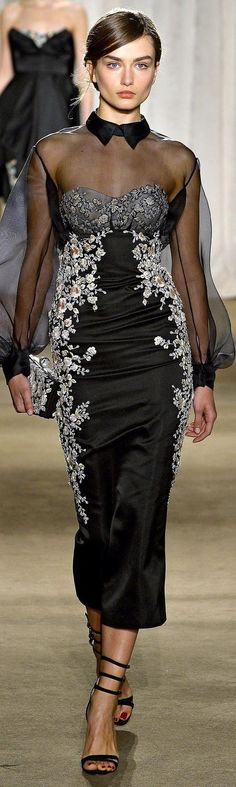 Marchesa Fall Winter 2013 New York Fashion Week New York Fashion, World Of Fashion, Iconic Dresses, Marchesa, Looking For Women, Peplum Dress, Ready To Wear, Cool Outfits, Fashion Dresses
