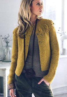 modele tricot gratuit veste style chanel