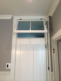 Throw it Over the Transom and See What Happens & what if we put in transoms over all the doors upstairs - more light ...