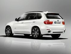 BMW X5 in White...to match the boat :)
