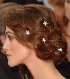 Kierra Knightley at the Atonement premiere - Always loved the stars in her hair.