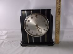 Gilbert Mantel Clock Antique Art Deco 8 Day by retroricks on Etsy