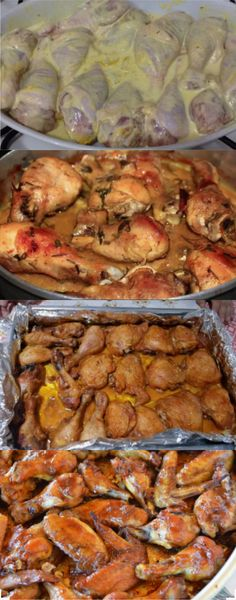 Great Chicken Recipes, My Recipes, Cooking Recipes, Portuguese Recipes, Home Food, Meat Lovers, Food And Drink, Yummy Food, Meals