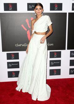 Zendaya Coleman - Celebrities at Rihanna's Diamond Ball 2015 Pictures | POPSUGAR Celebrity