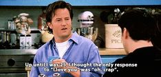 Like really, really bad: 25 Times Chandler Bing Proved To Be The Most Relatable Character Ever Funny Nurse Quotes, Nurse Humor, Funny Jokes, Hilarious, Friends Moments, Friends Tv Show, Chandler Bing Quotes, Misunderstood Shark, Nursing Memes